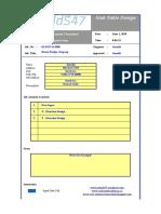 Table - Reinforcement Slab Design-JunaidS47