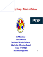 08 Thermal Energy Storage P Muthukumar