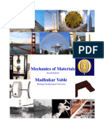 Mechanics of Materials 2nd Ed by M Vable
