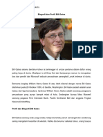 Biografi Dan Profil Bill Gates