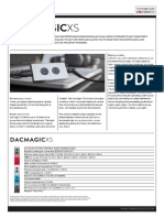 Dacmagic Xs Product Brochure English
