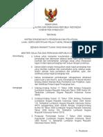 PERATURAN  MENTERI KELAUTAN DAN PERIKANAN REPUBLIK INDONESIA  NOMOR PER.07/MEN/2011  TENTANG  SISTEM STANDAR MUTU PENDIDIKAN DAN PELATIHAN,  UJIAN, SERTA SERTIFIKASI PELAUT KAPAL PENANGKAP IKAN  DENGAN RAHMAT TUHAN YANG MAHA ESA