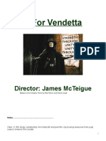 V for Vendetta Student Booklet Yr 11
