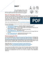 D&D Stater Guide