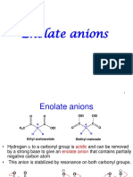 13 enolate anion