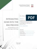 Integrating DGNB into the BIM process - Anastasia Stella
