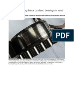 Benefits of Using Black Oxidized Bearings in Wind Applications