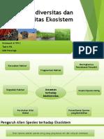 Biodiversitas Dan Integritas Ekosistem