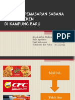 Strategi Pemasaran Sabana Fried Chicken
