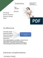 Dx Clínico y Dx Sindromico