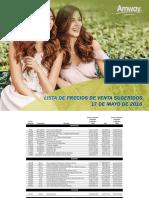 ListadePrecios_Mayo1718Clientes