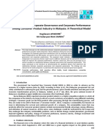Article 17 Determinants of Corporate Governance and Corporate1