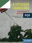 La Sociedad Carnivora - Herbert Marcuse