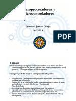 Diapositivas Microcontroladores