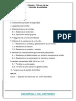 Diseño y Cálculo de Las Uniones Atornilladas