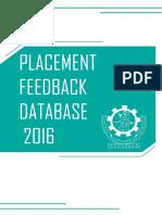 Recruitment Feedback 2015-16