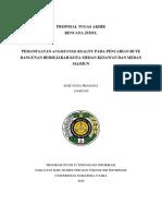 Proposal Tugas Akhir - Revisi 2