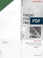 LEFEBVRE, HENRI - Hegel, Marx, Nietzsche (O el Reino de las Sombras) [por Ganz1912].pdf