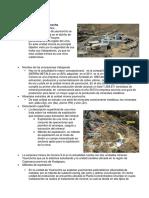 Minerias en El Peru
