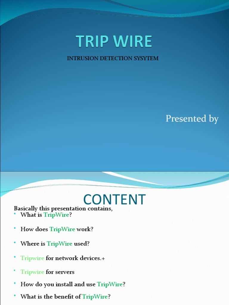Trip Wire(rohit thapliyal)