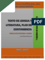 Leng y Literatuta Plan de Contingencia