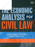 Hans Bernd Schafer - The Economic Analysis of Civil Law