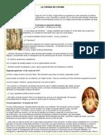 La Historia de La Virgen de Fatima