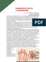 Artritis (Manejo terapéutico de la Artritis reumatoide).doc