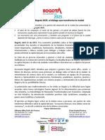 Lanzamiento Escenarios Bogotá 2025
