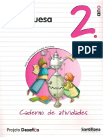Caderno de Atividades de Portugues 2º Ano Santillana