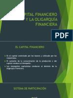 El Capital Financiero y La Oligarquía Financiera