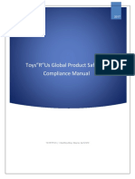 Global Product Safety Quality and Compliance Manual-Toys r Us