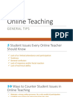 Online Teaching-Class Procedure