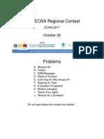 20172018 Acmicpc East Central North America Regional Contest Ecna 2017 En