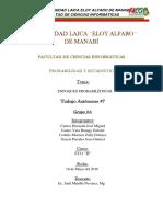 Informe #7 - Enfoques Probabilisticos