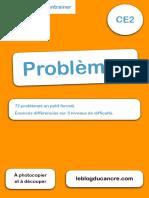 Banque de Problèmes Différenciés CE2 2