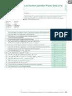 Escala de Trauma de Davidson (Davidson Trauma Scale, DTS)