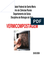 Aula 8 - Vermicompostagem