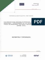 Batimetria y Topografia