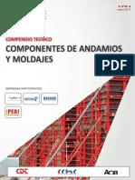 25 Compendio Componentes de Andamios Moldaje