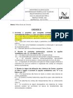 atividade unidade 3 e 4.doc