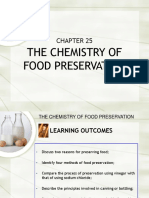 C25 the Chemistry of Food Preservation