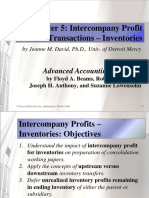 Beams10e Ch05 Intercompany Profit Transactions Inventories