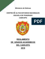 Reglamento Grados Academicos 2018