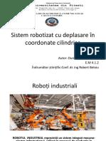 Prezentare Roboti Industriali