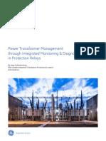 Power Transformer Management GEA-32004