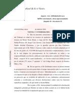 Según Ercolini, el fiscal Nisman fue asesinado por haber denunciado a la ex presidenta Cristina Kirchner