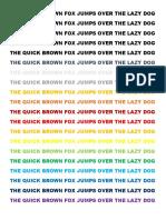 Printer Color Tester