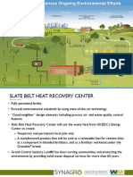 Synagro Technologies Inc. Slate Belt Heat Recovery Center