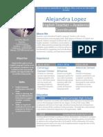 Cv Template Profile